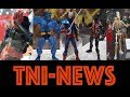 TNINews: Marvel Legends Jim Lee Style X-Men Beast & More From MCM London