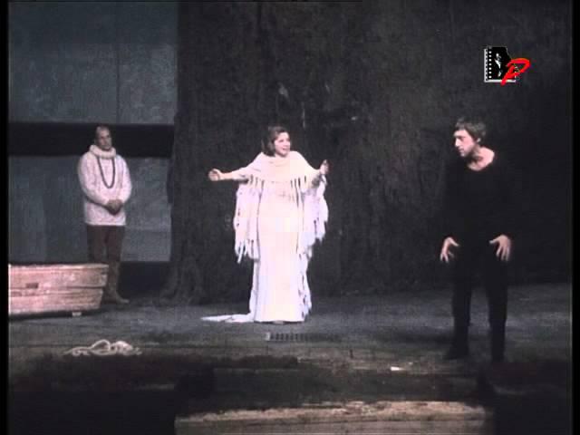 """Владимир Высоцкий — Фрагмент спектакля """"Гамлет"""""""