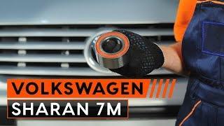 Hoe een voor wiellager vervangen op een VW SHARAN 7M [HANDLEIDING]