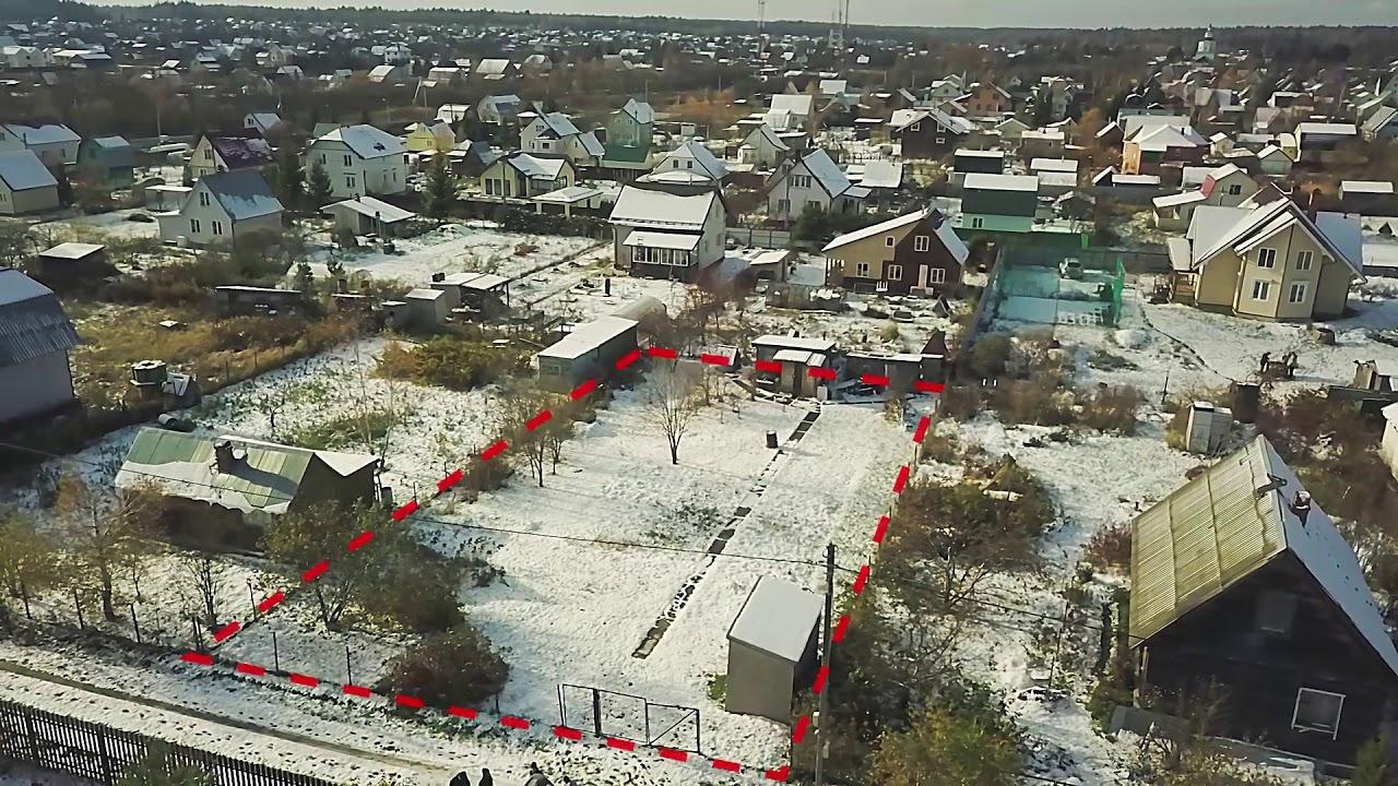 Купить участок в Ленинградкой области. 10 соток рядом с озером .