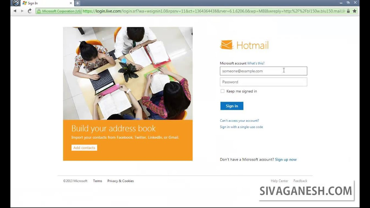 how to create email account with own domain