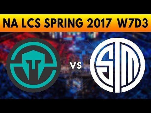 IMT vs TSM Game 3 - NA LCS SPRING 2017 W7D3 - Immortals vs Team SoloMid