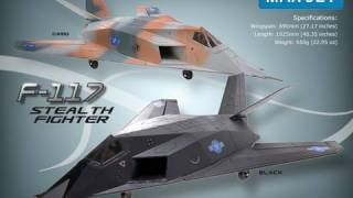how to Build the New F117 64mm EDF RC Fighter Jet by 3DT