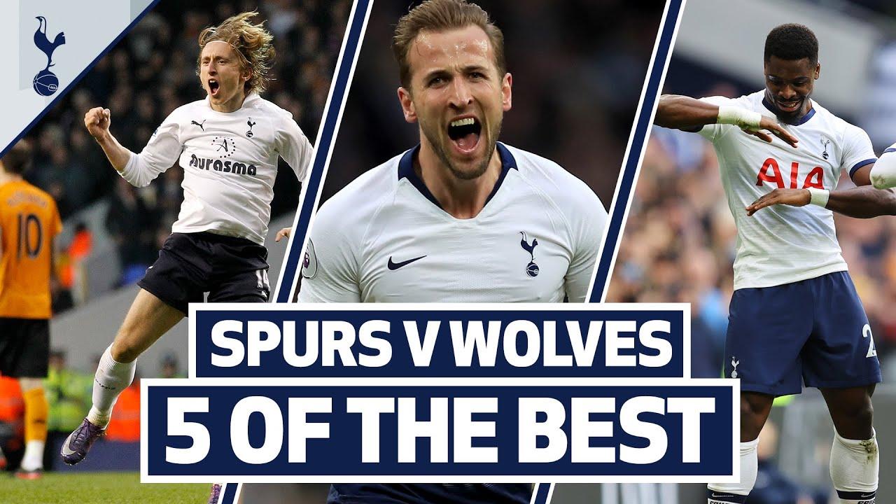 Kane, Modric, Aurier, Keane & Dalmat! 5 OF THE BEST | SPURS BEST HOME GOALS V WOLVES!