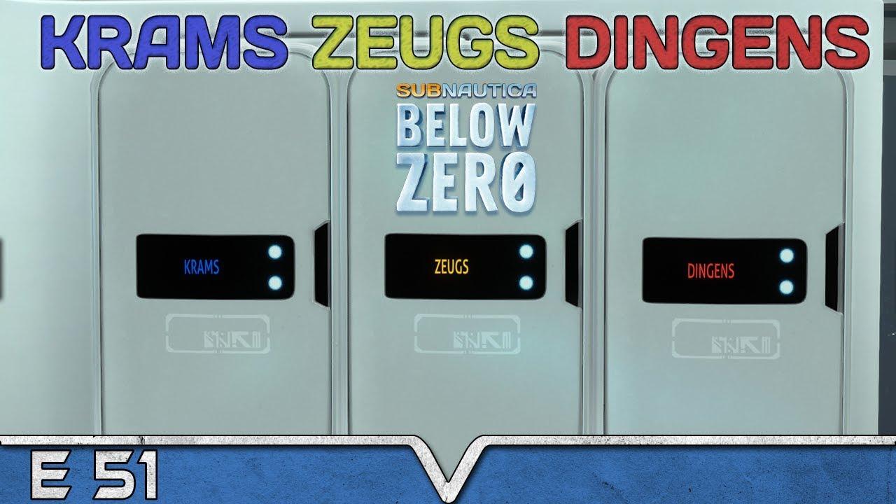 SUBNAUTICA Below Zero Deutsch ★ #51 Krams Zeugs Dingens ★ Arctic Living