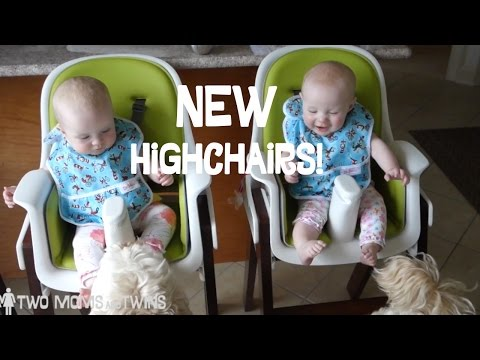 The Twins get NEW Highchairs, the Two Moms get Sushi – LGBT Family