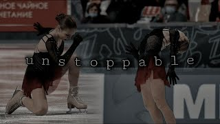 Alexandra Trusova Александра Трусова Unstoppable