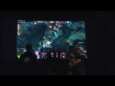 VirtusPro vs Team Secret 3d game pubstomp Moscow