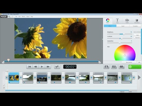 MAGIX Video easy HD (Version 5) – Introductory video tutorial (INT)