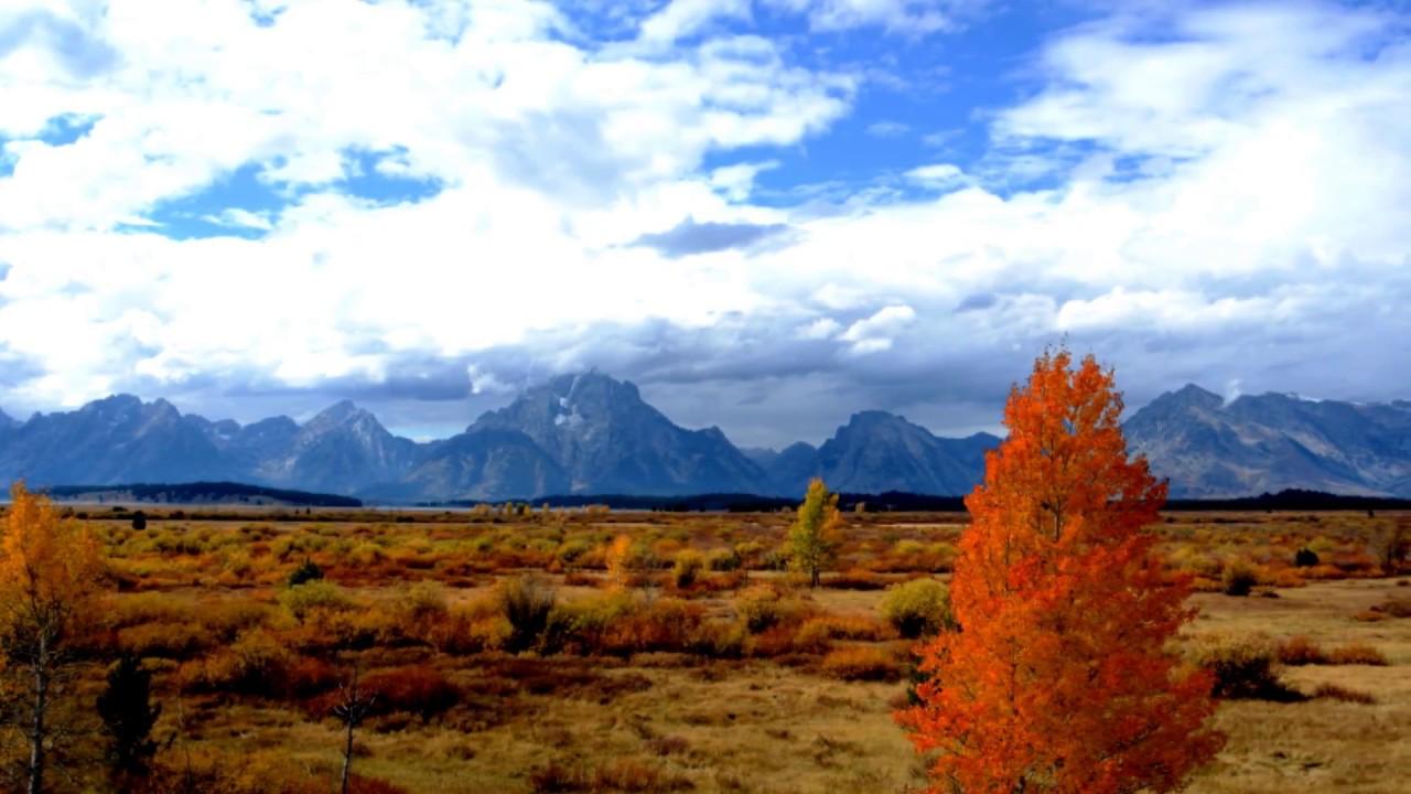 fall colors in grand teton national park wyoming slideshow