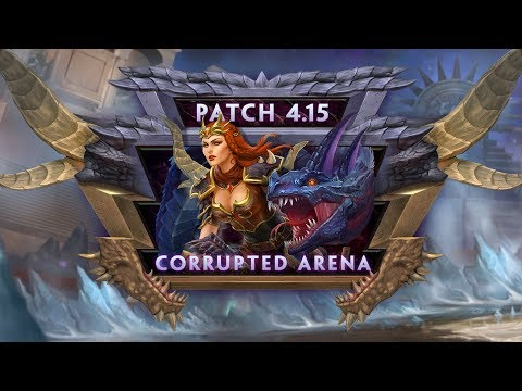 SMITE Patch Notes VOD - Corrupted Arena (Patch 4.15)