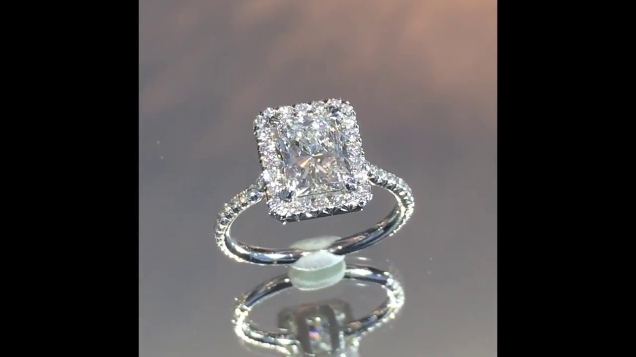 Images Of   Carat Radiant Cut Ring