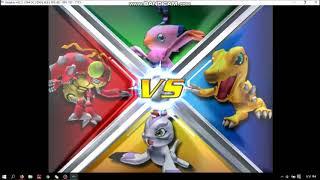Digimon Rumble Arena 2 -Windows 10 (Dolphin Emulator)