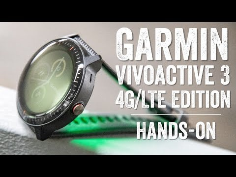 First Look: Garmin Vivoactive 3 Music Cellular/LTE (for