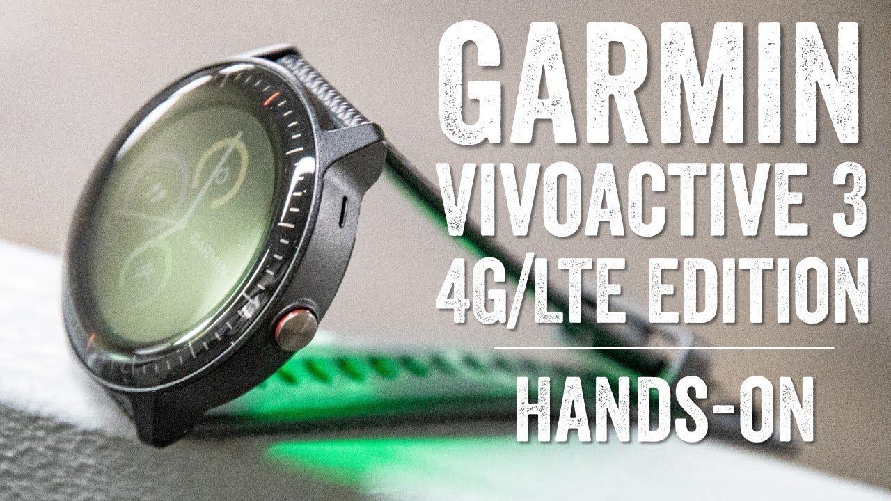 First Look: Garmin Vivoactive 3 Music Cellular/LTE (for Verizon