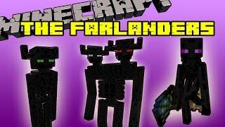 THE FARLANDERS MOD - La familia de los enderman - Minecraft mod 1.7.2, 1.7.10 review español