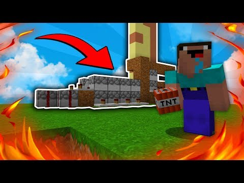 NOOB CANNON RAIDS RICH BASE | Minecraft Factions District #20