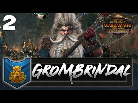 ORC HORDES IN THE UNDERWAY! Total War: Warhammer 2 - Dwarf Mortal Empires Campaign - Grombrindal #2
