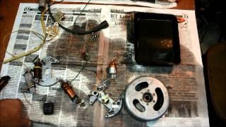Установка и настройка электронного зажигания для Ш50 58