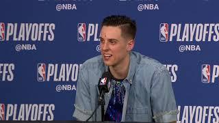 Zach Collins Postgame Interview - Game 6 | Nuggets vs Blazers | 2019 NBA Playoffs