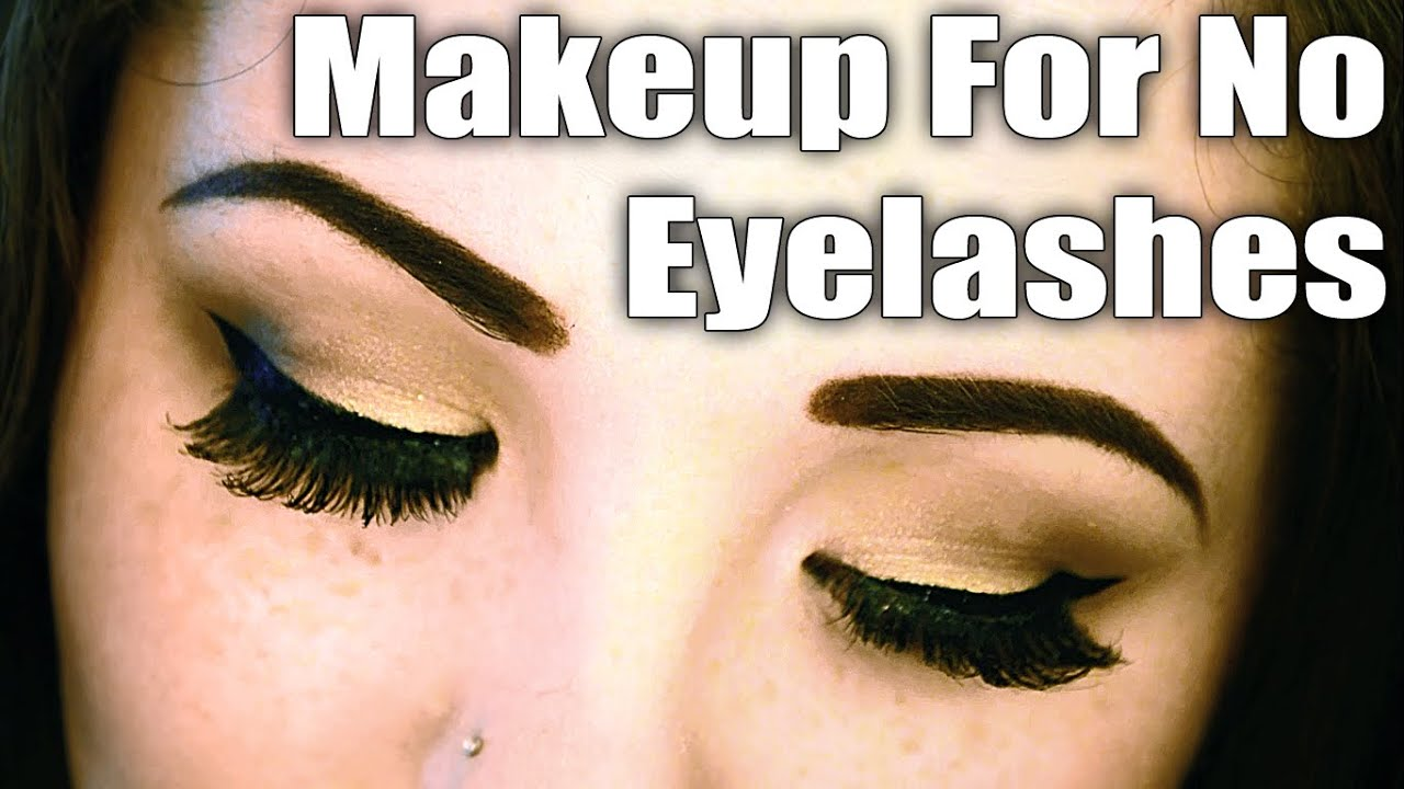 Makeup Transformation For People With No Eyelashes Youtube