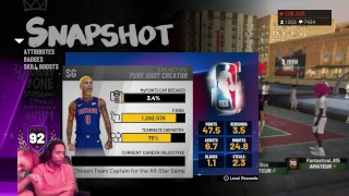 NBA 2K19- Best Guard 92 Overall Grind 93%