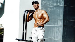 HOME WORKOUT with Parallettes   Frank Medrano