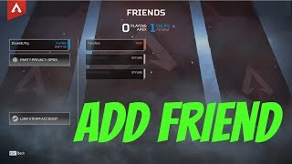 How to Add Friends on Apex Legends
