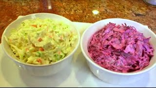 Red And Green Coleslaw - Quick & Kosher With Jamie Geller