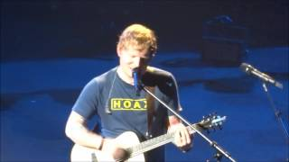 Ed Sheeran - Don't/New Man (mashup) @ The Teenage Cancer Trust Royal Albert Hall 28/03/17