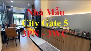 Nhà Mẫu City Gate 5 Căn Hộ 3 Phòng Ngủ 3 WC ( 2 Phòng Ngủ Chính và 1 Studio)