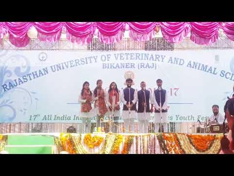 Patriotic song by Nanaji Dehmukh Veterinary Science University, Jabalpur