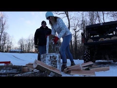 #335 Does Frozen Firewood Split Easier?