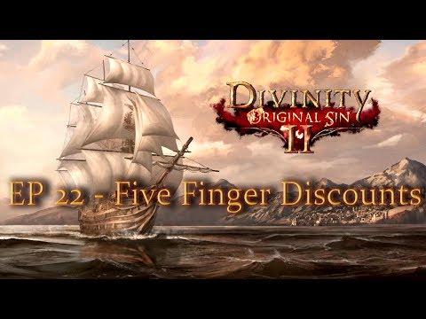 Divinity: Original Sin II - Ep 22 - Five Finger Discounts