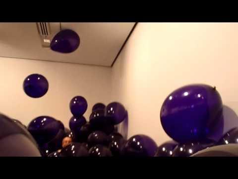 Balloons sea, GoMA, Brisbane