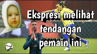sepak bola wanita (tindakan pesepak bola wanita yang tidak sportif: lucu dan ngakak