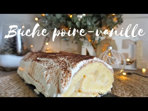 bûche-de-noël-poire-vanille