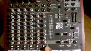 Unboxing ZED10 + Internet Radio Broadcast Equipment (Mixer, Mic +, Cables)