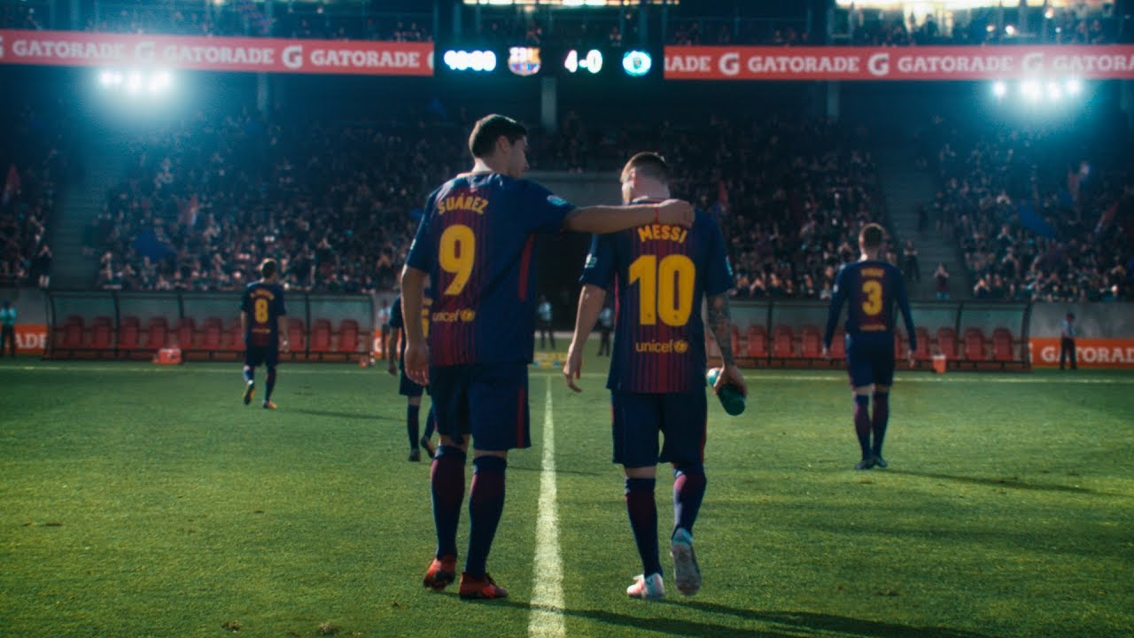 Messi Luis Suarez Everything Changes Youtube