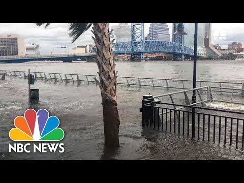 Flooding In Jacksonville After Hurricane Irma | NBC News