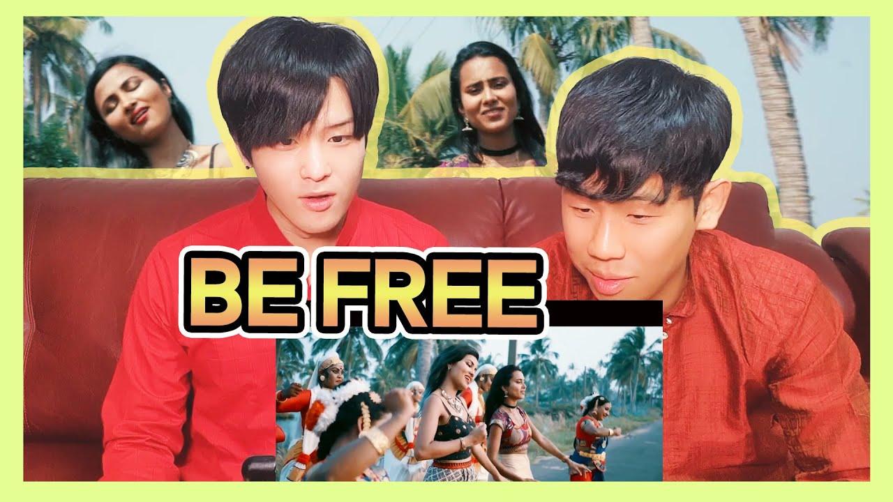 Koreans React to 【Be Free】 by Pallivaalu Bhadravattakam   Ft. Vandana Iyer