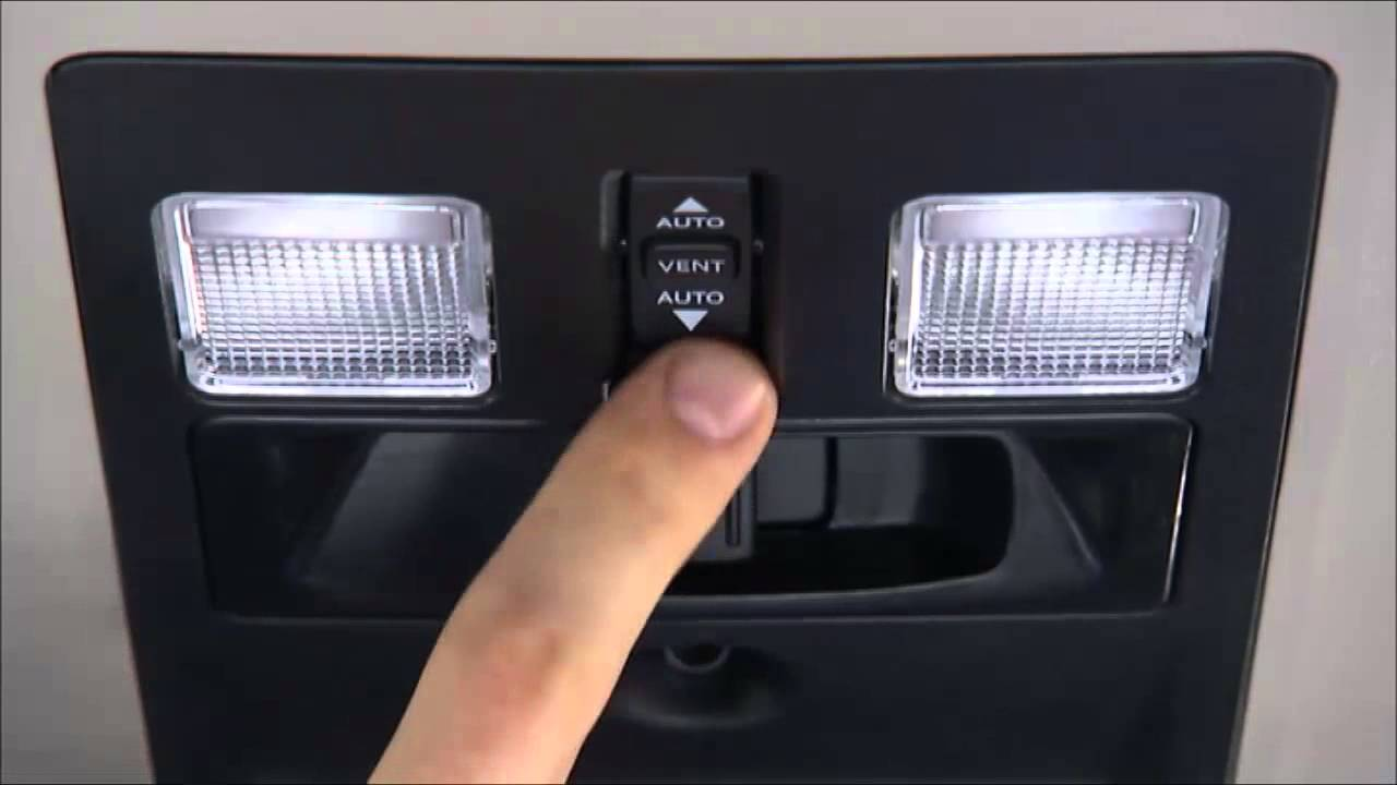 2014 Ram Truck Power Sunroof Youtube