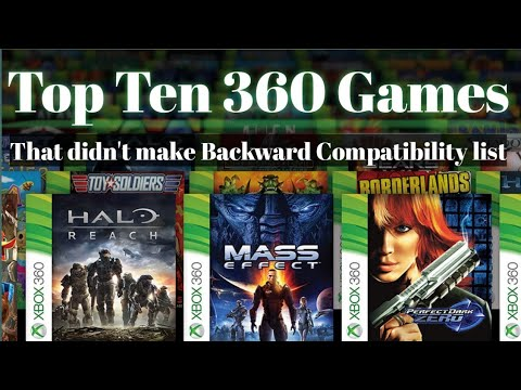 Xbox Backwards Compatibility - Top Ten 360 Games That Didn't Make Xbox One