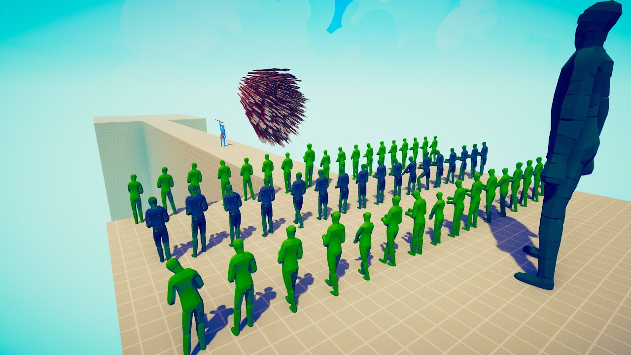 100x ZOMBIE + GIANT vs EVERY GOD Defend The Bridge ► Totally Accurate Battle Simulator TABS