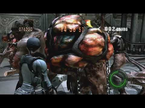 RE5 Mercenaries New Stage Mod Test #5
