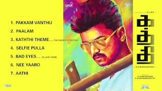 Kaththi - Jukebox (Full Songs Tamil)