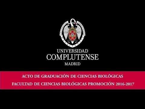 Acto de Graduación Facultad de Ciencias Biológicas 2017. UCM