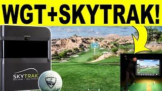 WGT Golf + SkyTrak Golf Simulator - First Look & Review (World Golf Tour) screenshot 3