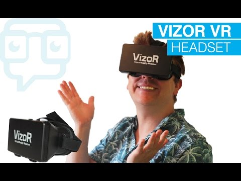 Tech Review: Vizor Virtual Reality Headset | VR