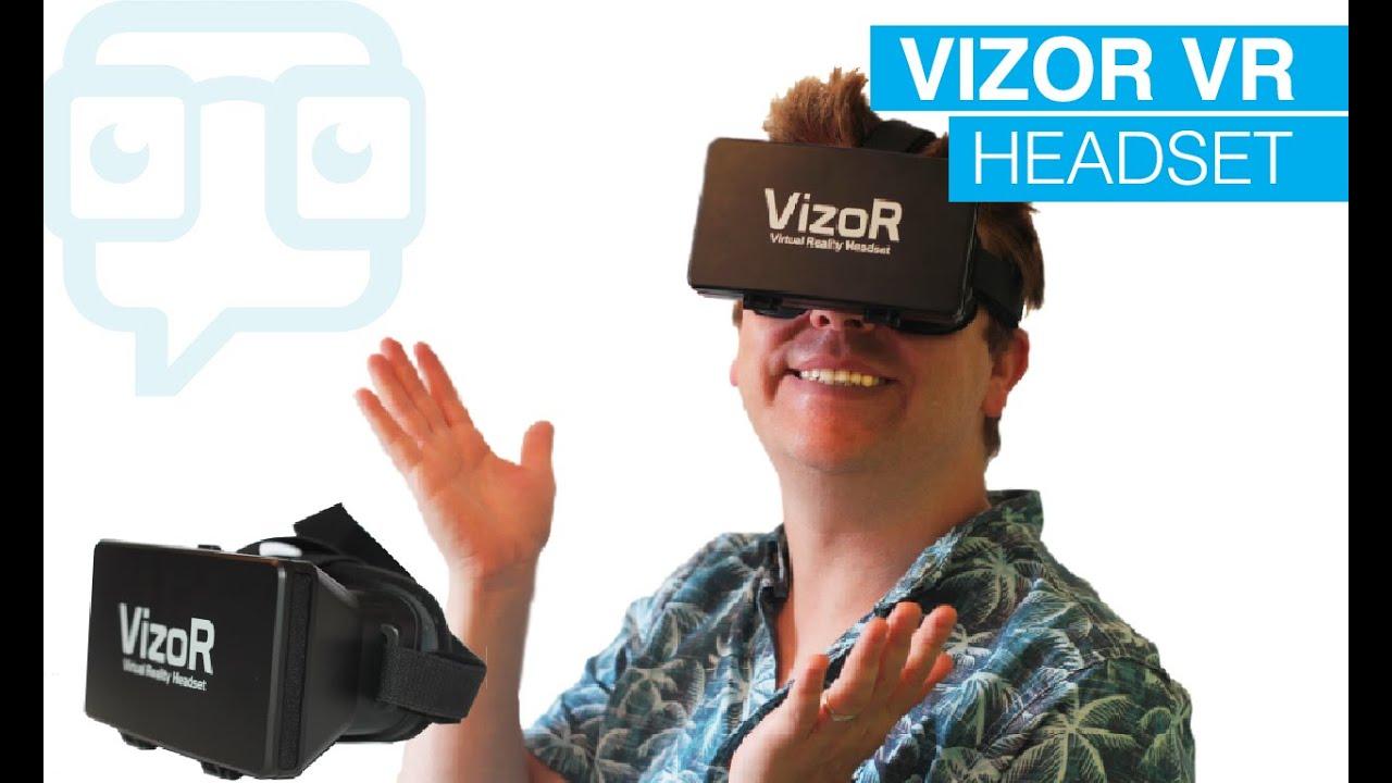 50f44f25a83 Tech Review  Vizor Virtual Reality Headset